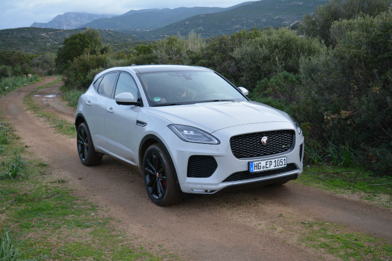premier essai jaguar e pace 2018 auto au feminin. Black Bedroom Furniture Sets. Home Design Ideas
